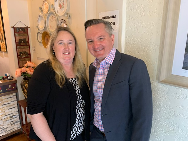 A fabulous day for NPs with ACNP President, Leanne Boase meeting with Chris Bowen, Shadow Minister for Health to discuss the roles that NPs play in health and the wider issues within the health system. It was fantastic to engage with a highly interested team who has such great knowledge of Nurse Practitioners within the Australian landscape.