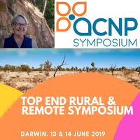 A symposium designed exclusively for Nurse Practitioners, Advanced Practice Nurses and Health Professionals working in rural and remote areas.