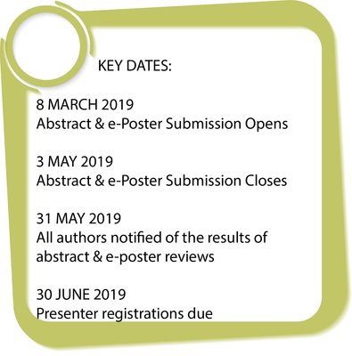 Conference Abstract Dates