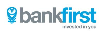 Bank First Logo Horizontal (Strapline) Full Colour RGB